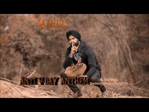 """""""Anti V day Anthem"""" - SAAHIR (audio) [Punjabi Rap]"""