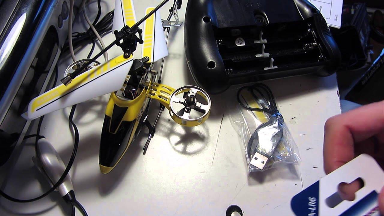 Elicottero X3 : Novo alzrc devil rc elicottero set asta di controllo
