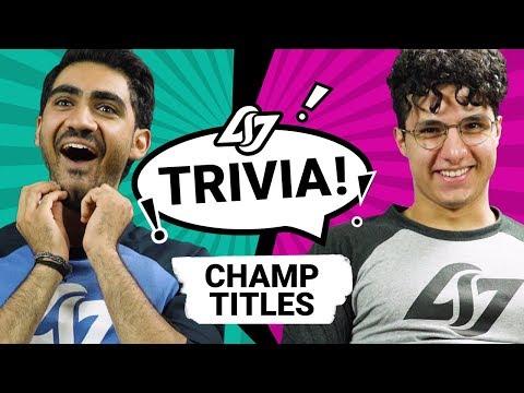 CLG LEAGUE TRIVIA - Darshan vs Omargod