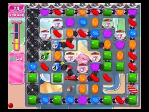 Candy Crush Saga Level 1607