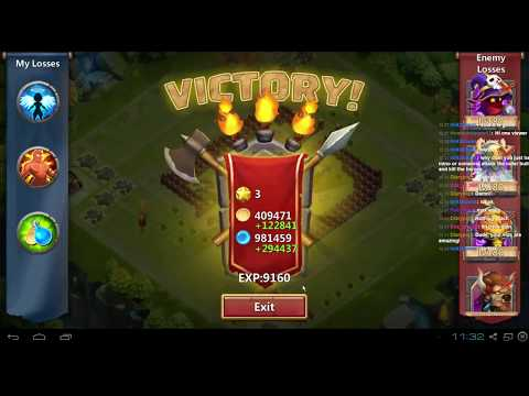 Last Nights Castle Clash Stream With Aevatrex