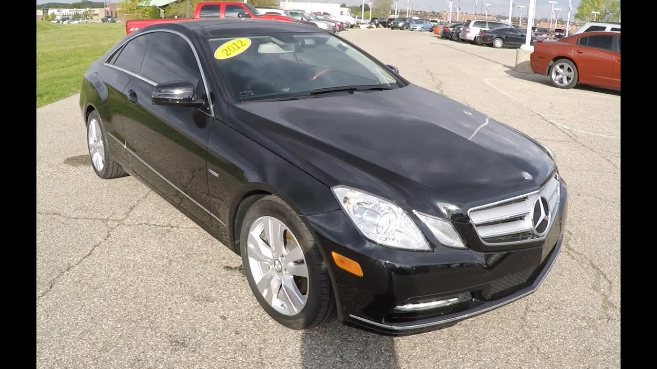 2012 mercedes benz e350 coupe b0199a youtube for 2012 mercedes benz e350 review