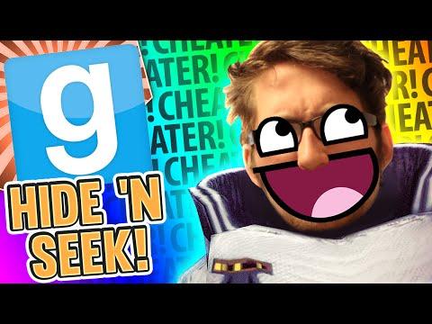 Gmod Hide and Seek - Mega Cheats (Garrys Mod Funny Moments)
