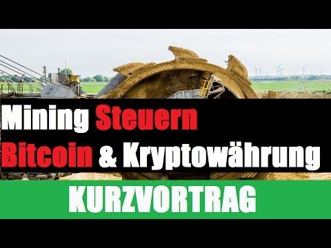 Bitcoin Mining Steuern | Bitcoin Mining Steuererklärung | Kryptowährung Minung Steuern