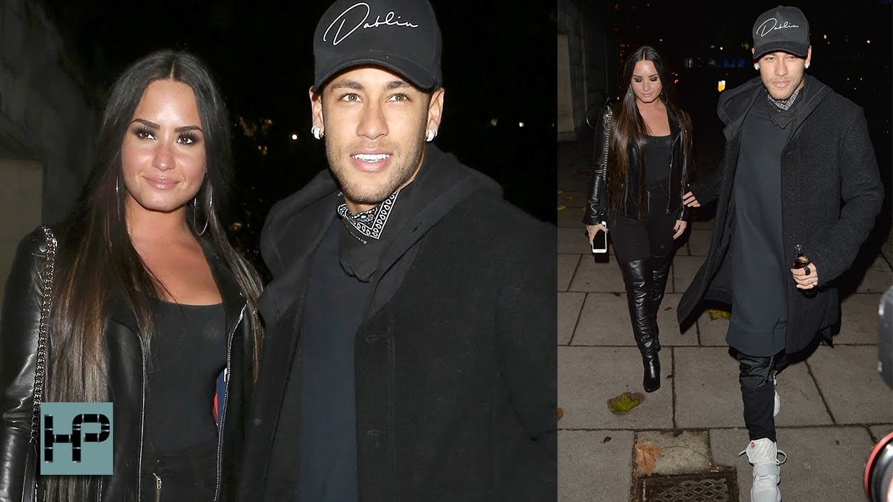 Demi Lovato And Neymar Jr Together In London