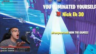 Nick Eh 30 biggest Fortnite rage!!(Fortnite battle Royale)