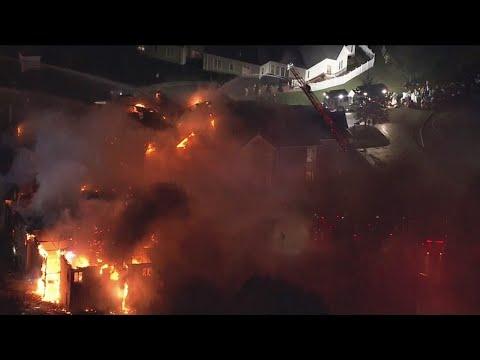 Crews Battling 4-Alarm Fire At West Chester Nursing Home