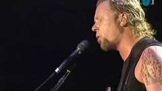metallica  -  nothing else matters (live big day out 2004