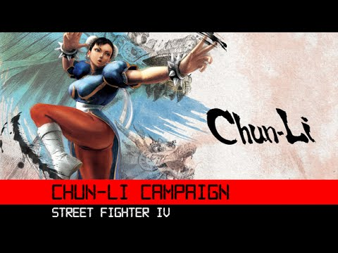 Super Street Fighter IV Chun Li Campaign 3DS HD Gameplay Walkthrough