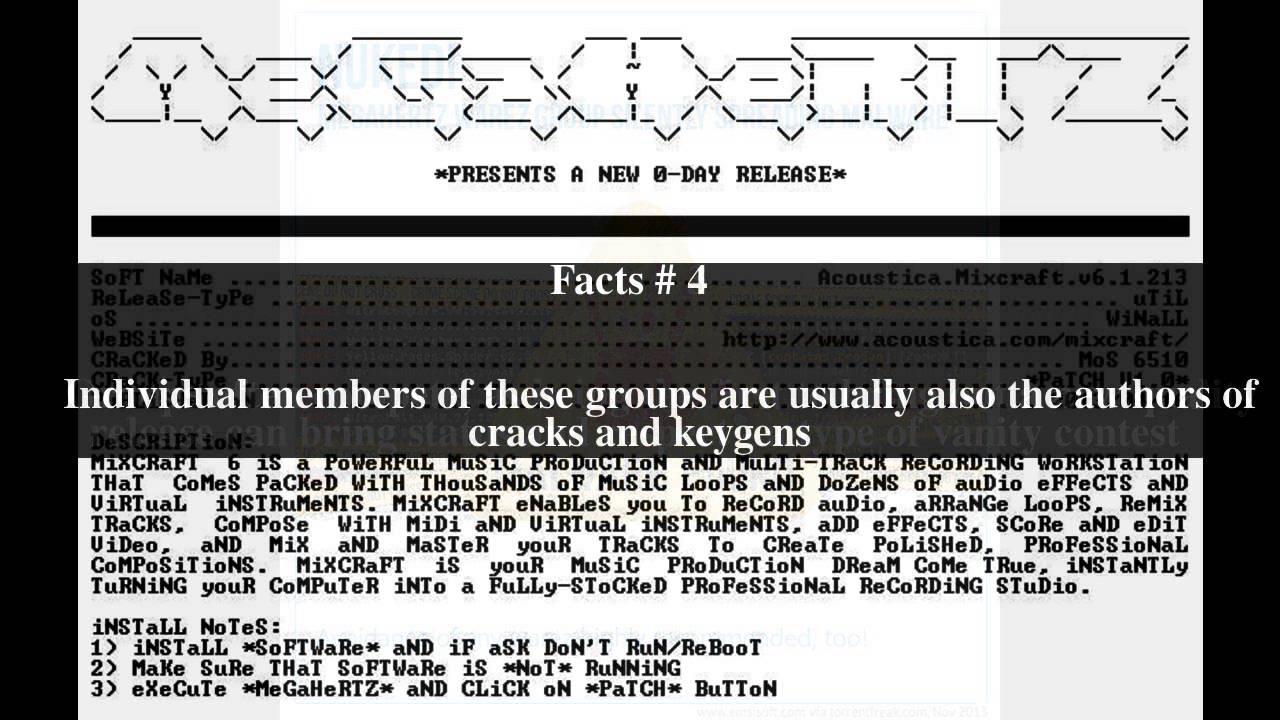 Warez group Top # 7 Facts