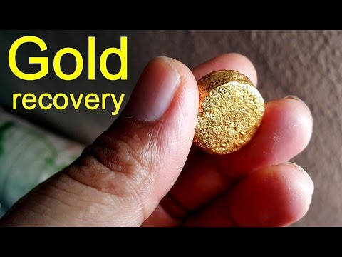 How to remove gold from circuit board Gold Recycling.