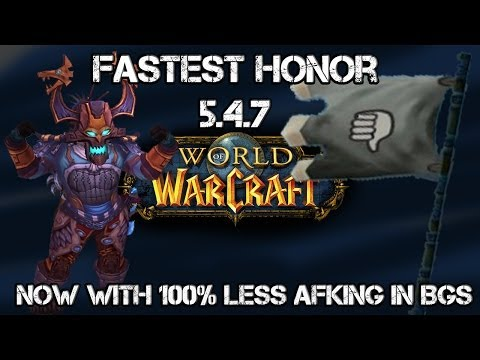 WoW Fastest Honor For Horde