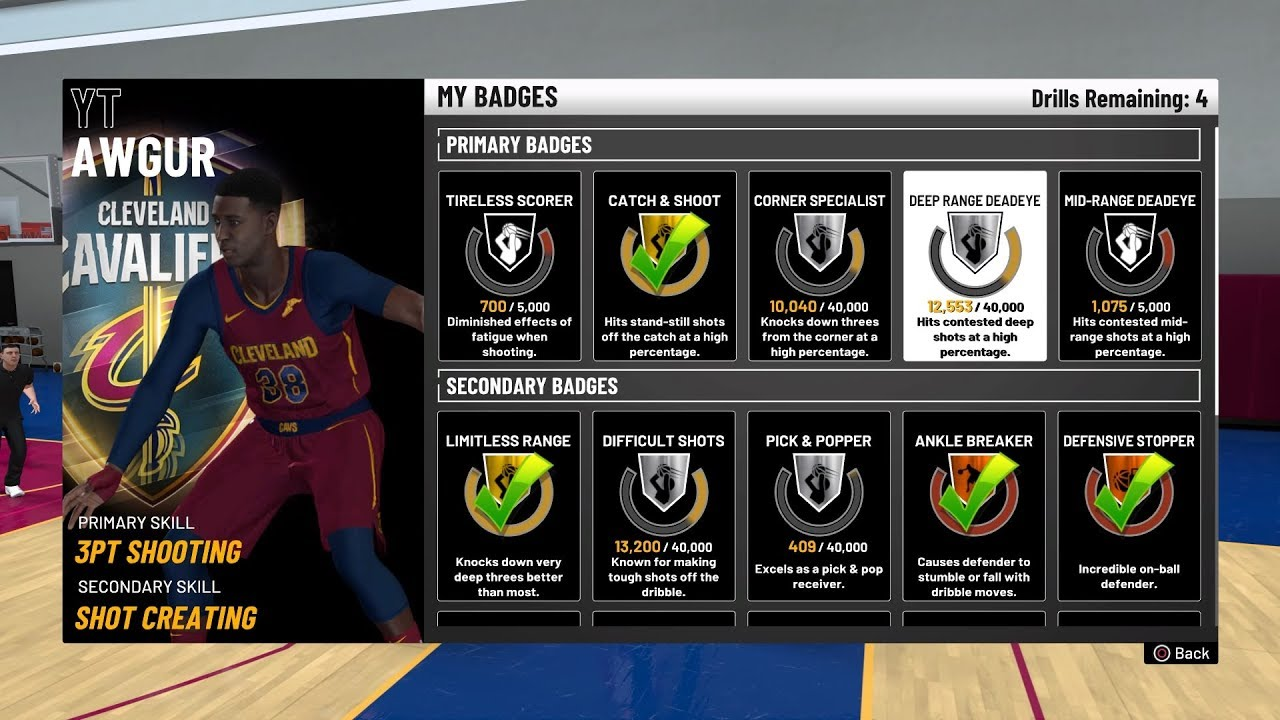 Nba 2k19 badges