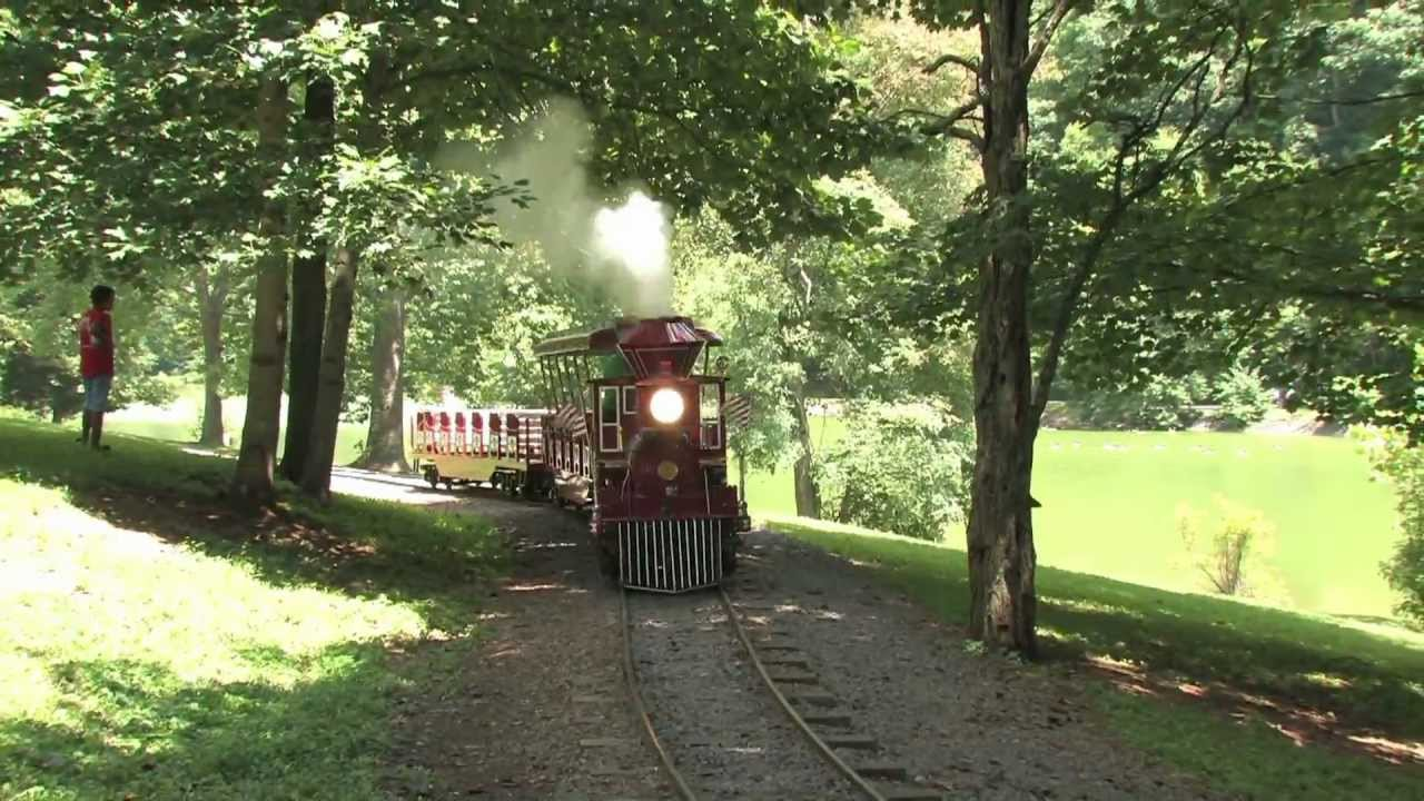 Steele Creek Park Miniature Train Bristol Tn Youtube