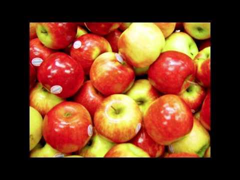 1 Hour of Apple Slow Motion Eating [ASMR]
