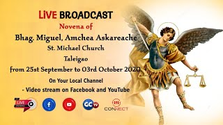 NOVENA MASS || ST. MICHAEL THE ARCHANGEL || LIVE || TALEIGAO CHURCH || 29 SEPT 2020