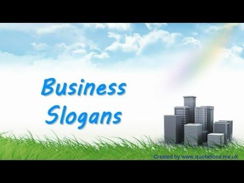Slogans Business