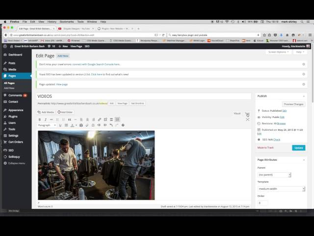 Easy Fancybox plugin and youtube