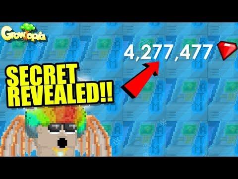 Revealing where I keep my 10,000 ATMS!   Growtopia