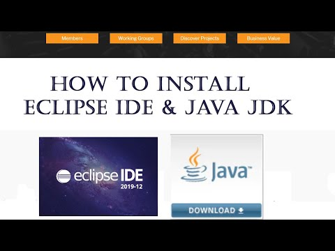 How To Install Eclipse IDE W/ Java JDK 13 On Windows 10