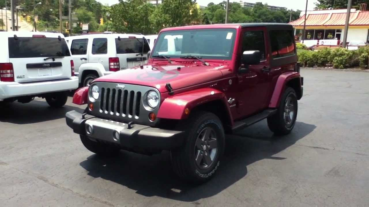 Craig Dennis Exclusive Deep Cherry Red Jeep Wrangler Freedom