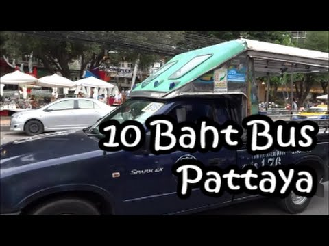 Pattaya & the 10 Baht bus Information Thailand with Geoff Carter