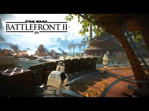 Star Wars Battlefront 2 All Galactic Assault Maps New Multiplayer