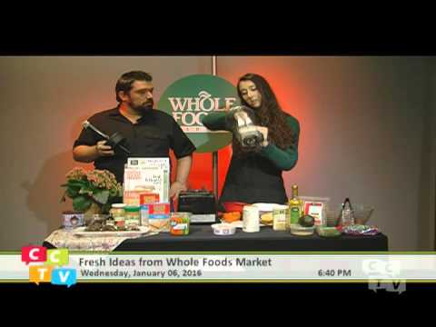 Fresh Ideas From Whole Foods Market w Christina
