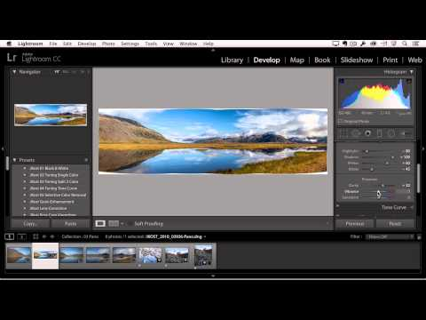 Video preview image for Adobe integrates panoramic stitching in Lightroom CC