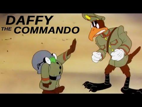 Daffy - The Commando   1943   World War 2 Era Propaganda Cartoon