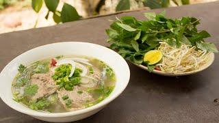 HOW TO COOK VIETNAMESE NOODLE SOUP (PHO) AT VILLAGE - CKK