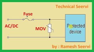 MOV (Metal Oxide Varistor) all about in hindi.