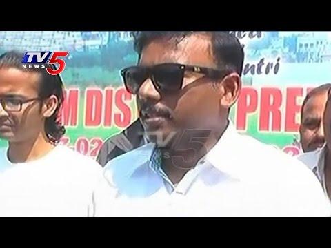 SP Srikanth Commence Final Match | District Level  Cricket League | Prakasham | TV5 News