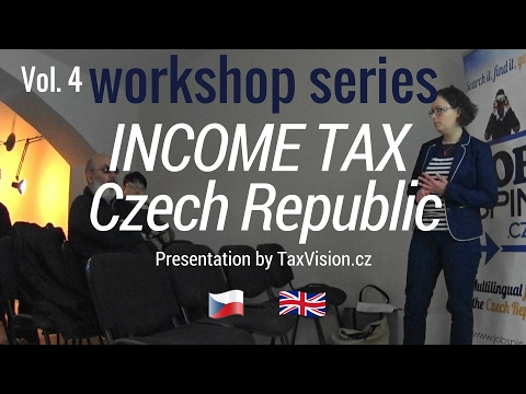 Workshop: Income Tax in the Czech Republic and Czech Value Added Tax (VAT)
