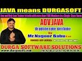 Advance Java Training | JDBC application to update table in Database by NagoorBabu