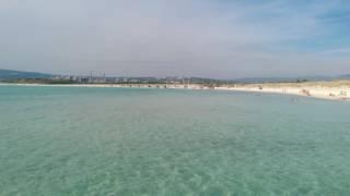 Weisser Strand in Vada, Italien
