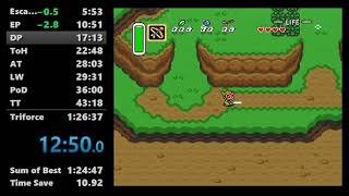 Speedrun - The Legend of Zelda: A Link to the Past in 1:26:14 (Any% No Major Glitches)