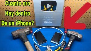 Cuanto oro hay dentro de un iPhone 📲 ?