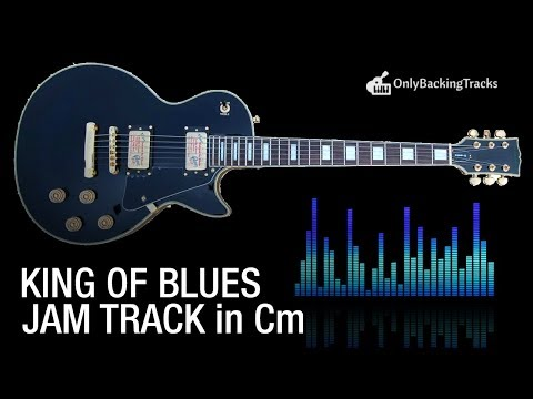 King of Blues - Blues Scale Backing Track in C Minor