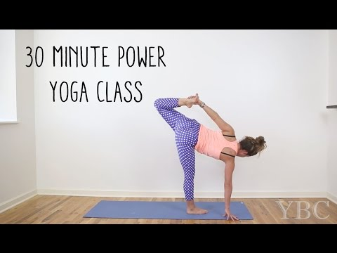 30 Minute Power Yoga Class