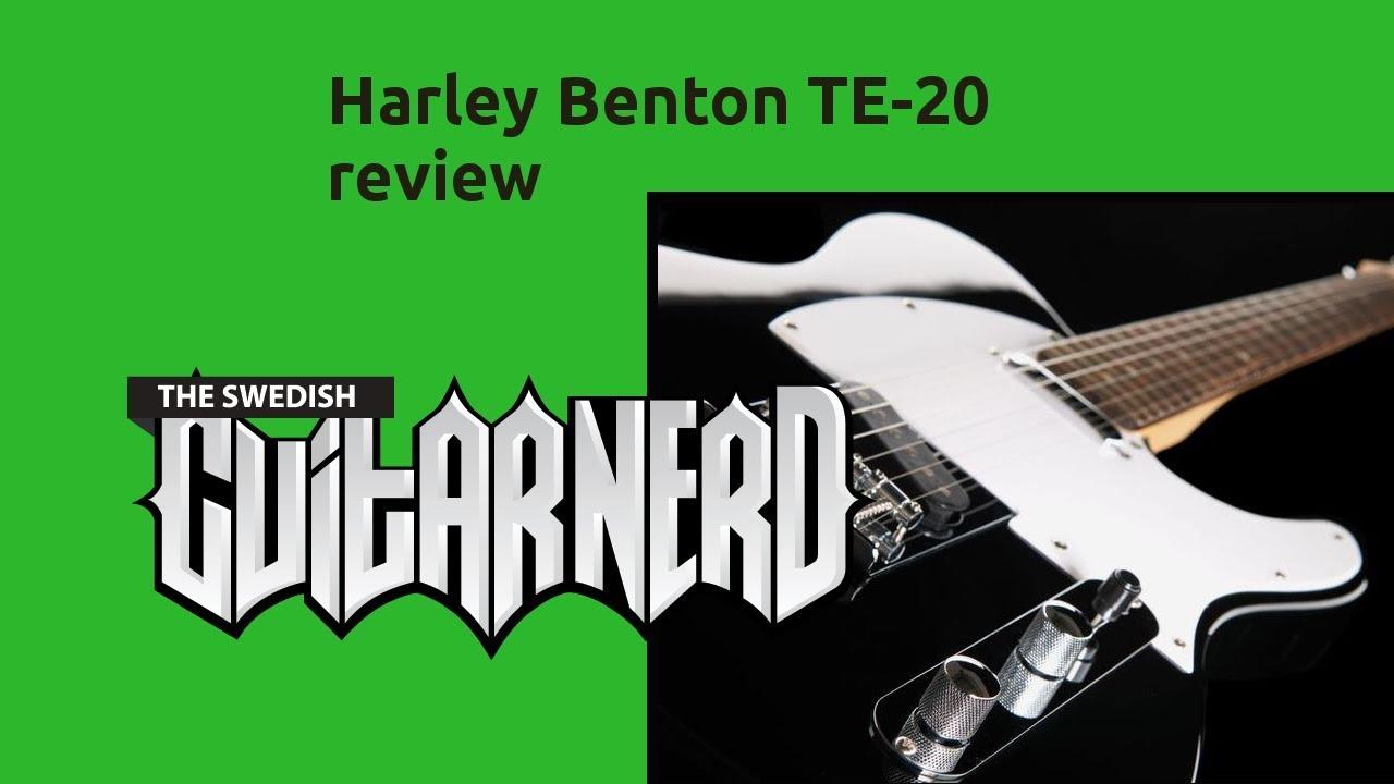 Harley Benton TE-20 - review