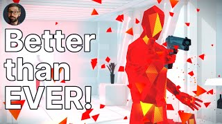 SUPERHOT: MIND CONTROL DELETE Review | Slow motion puzzle FPS (Video Game Video Review)