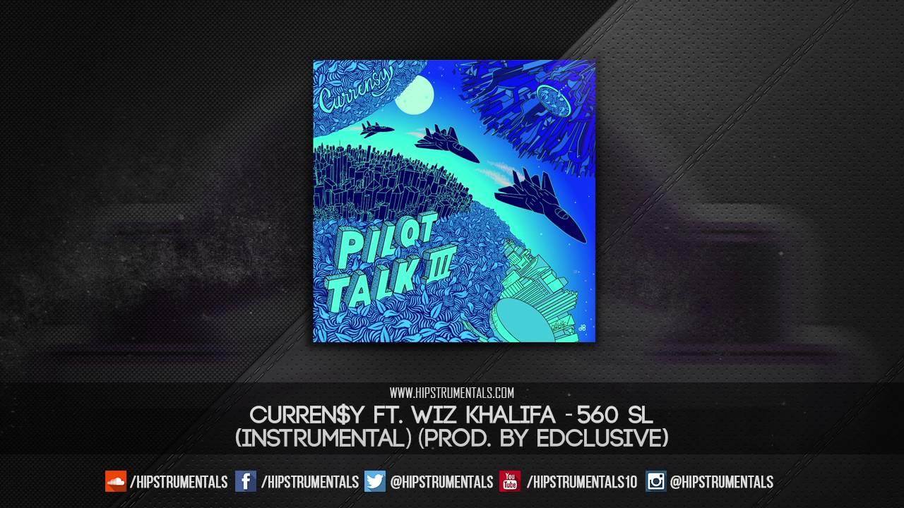 Curren$y Ft  Wiz Khalifa - 560 SL [Instrumental] (Prod  By Edsclusive) + DL  via @Hipstrumentals