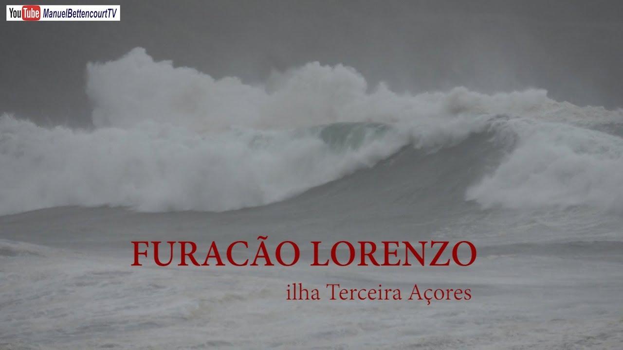 Efeitos da Passagem do Furacão Hurricane Lorenzo pela ilha Terceira Açores
