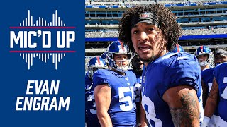 "Evan Engram Mic'd Up in the Giants Win vs. Redskins | ""It's like the Spider Man meme!"""
