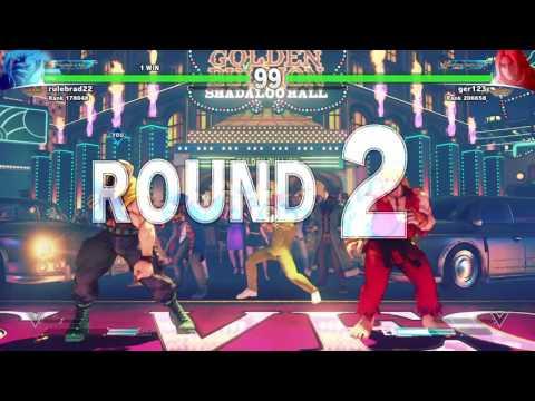 STREET FIGHTER V ONLINE MATCH VS KEN