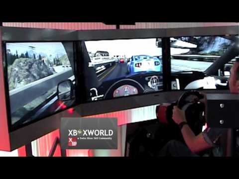 Forza Motorsport 4   Hydraulic Racing Seat (gamescom 2011, Microsoft Play  Day)