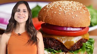 How To Make The Best Vegan Burger By Rachel • Tasty