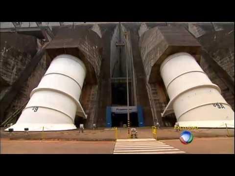 JR na Fronteira: repórter visita áreas restritas da Usina de Itaipu