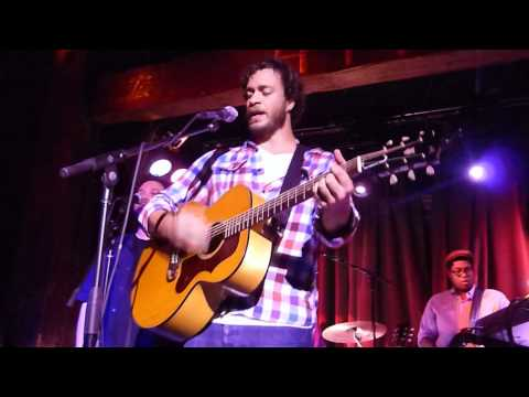 "Amos Lee LIVE ""Seen It All Before"" Hiro Ballroom NYC"